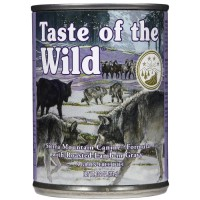 Taste Of The Wild Sierra Mountain In Gravy Adult Dog Food 390g x 12