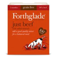 Forthglade Just Beef Dog Food 395g x 18