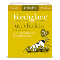 Forthglade Just Chicken Dog Food 395g x 18