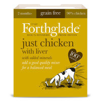 Forthglade Just Chicken with Liver Dog Food