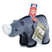 "Sharples Pet Tuff Rhino Dog Toy 11"""