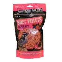 Suet to Go Premium Suet Berry Pellets Wild Bird Food 550g