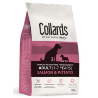 Collards Salmon & Potato Adult Dog Food 10kg
