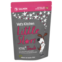 Vets Kitchen Little Stars Salmon Active+ Dog Treats 85g