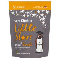 Vets Kitchen Little Stars Chicken Smart+ Dog Treats 85g