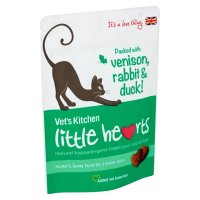 Vets Kitchen Little Hearts Game Cat Treats 60g