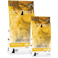 Devoted Free Run Chicken Adult Cat Food 300g