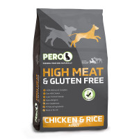 Pero High Meat Chicken & Rice Adult Dog Food  12kg