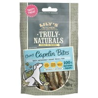 Lilys Kitchen Truly Naturals Capelin Bites 80g