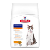 Hills Science Plan Mature Adult 7+ Light Chicken Dry Cat Food