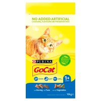 Go-Cat Tuna, Herring & Vegetable Adult Cat Food 10kg