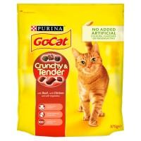 Go-Cat Crunchy Beef & Chicken Cat Food