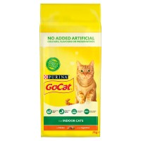 Go-Cat Chicken & Greens Indoor Adult Cat Food 2kg