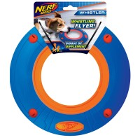 Nerf Atomic Howler Whistling Flyer Dog Toy Large