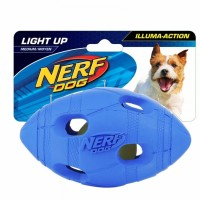 Nerf LED Bash Football Dog Toy Medium