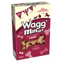 Wagg mmms Dog Treats 400g - Liver