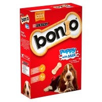 Bonio Puppy with Milk Dog Biscuits 350g