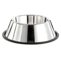 Sharples Pet Stainless Steel Non-Tip Cocker Bowl 25cm