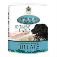 Natures Harvest Holistic Wild Atlantic Cod Dog Treats 100g