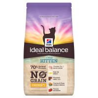 Hills Ideal Balance No Grain Chicken & Potato Dry Kitten Food 1.5kg