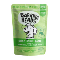 Barking Heads Chop Lickin Lamb Adult Dog Food 300g x 10