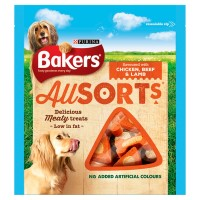 Bakers Allsorts Flavoured with Chicken, Beef & Lamb 98g 98g