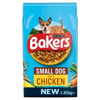 Bakers Complete Chicken & Vegetable Small Breed Adult Dog Food 2.85kg