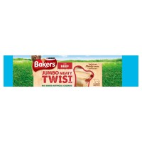 Bakers Meaty Twists Dog Treats Jumbo