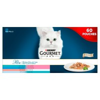 Gourmet Perle Chefs Ocean Collection Adult Cat Food Pouches 85g x 60