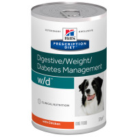 Hills Prescription Diet Canine WD Canned 370g x 12