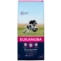 Eukanuba Growing Puppy Chicken Medium Breed Puppy Food 12kg