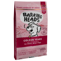 Barking Heads Golden Years Senior Dog Food 12kg
