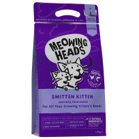 Meowing Heads Smitten Kitten Food 1.5kg