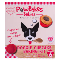 PawBakes Cupcake Baking Kit Dog Treat
