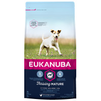 Eukanuba Thriving Mature Chicken Small Breed Dog Food 3kg x 2