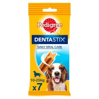 Pedigree Dentastix Medium Adult Dog Treat 7 Stick