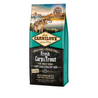 Carnilove Fresh Carp & Trout Dry Adult Dog Food 12kg