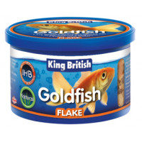 King British Flake Goldfish Food