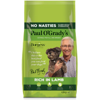 Paul O Gradys No Nasties Rich in Lamb Adult Dog Food