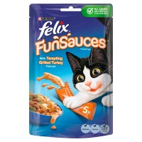 Felix FunSauces Food Toppings for Cats