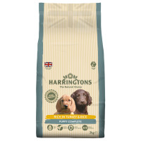 Harringtons Turkey & Rice Puppy Food 2kg