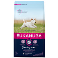 Eukanuba Growing Puppy Chicken Small Breed Puppy Food  2kg