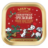 Lilys Kitchen Christmas Three Bird Feast for Dogs 150g x 10