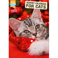 Good Girl Christmas Cat Advent Calendar with Catnip