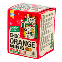Good Boy Chocolate Orange Minis Dog Christmas Treats