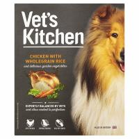 Vets Kitchen Chicken with Wholegrain Rice Wet Adult Dog Food 395g x 10