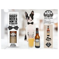 Rosewood Bottom Sniffer Beer Luxury Christmas Gift Set For Dogs