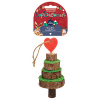 Rosewood Wood & Loofa Tree for Small Pets