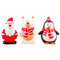 Armitage Festive Squeakies Assortment Christmas Dog Toy Santa