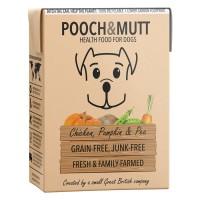 Pooch & Mutt Chicken Pumpkin and Peas Adult Wet Dog Food Cartons 375g x 24
